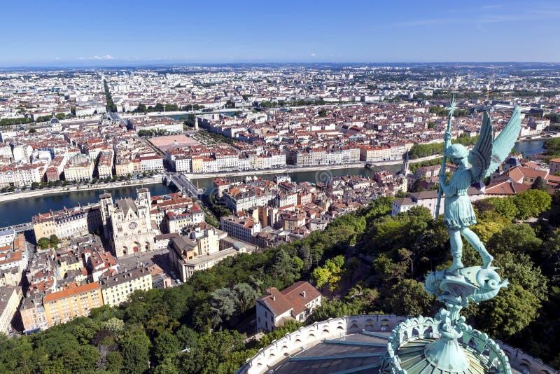Лион франция стоковая фотография rf