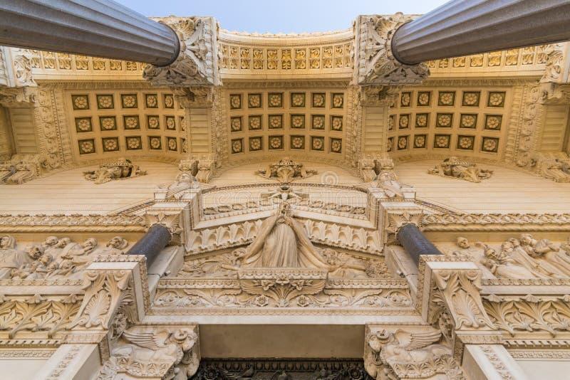Лион, часть базилики стоковые изображения rf