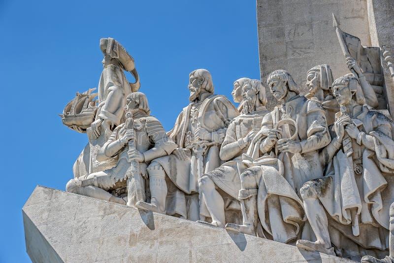 Лиссабон, памятник к открытиям стоковое изображение rf