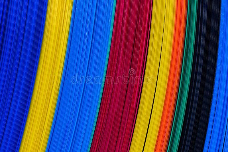 Листы цвета рифлёные пластичные, доска характеристики. стоковая фотография