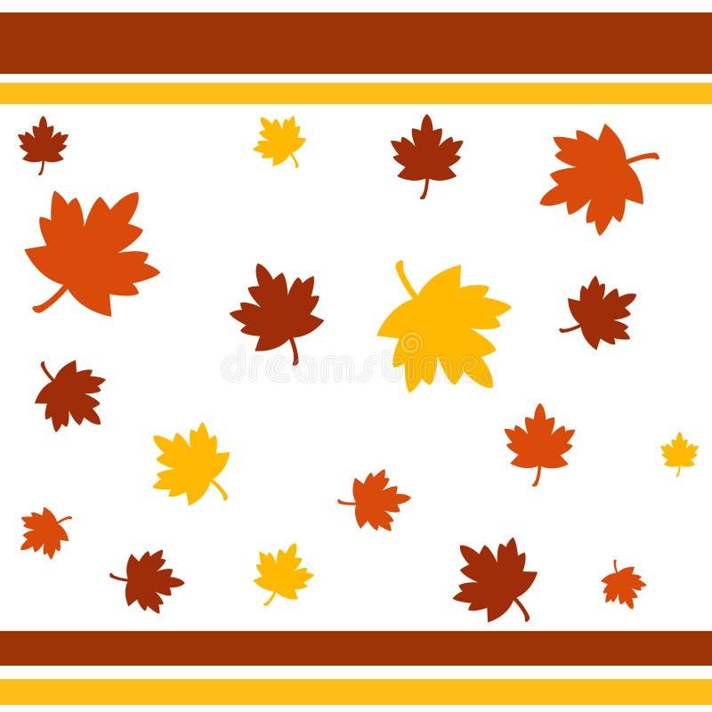 Download листья осени иллюстрация штока. иллюстрации насчитывающей картина - 1196520