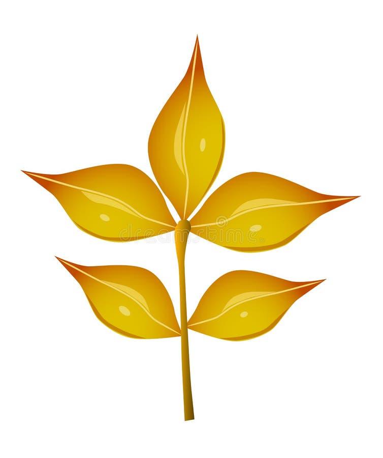 Download Листья осени иллюстрация вектора. иллюстрации насчитывающей листья - 33728979