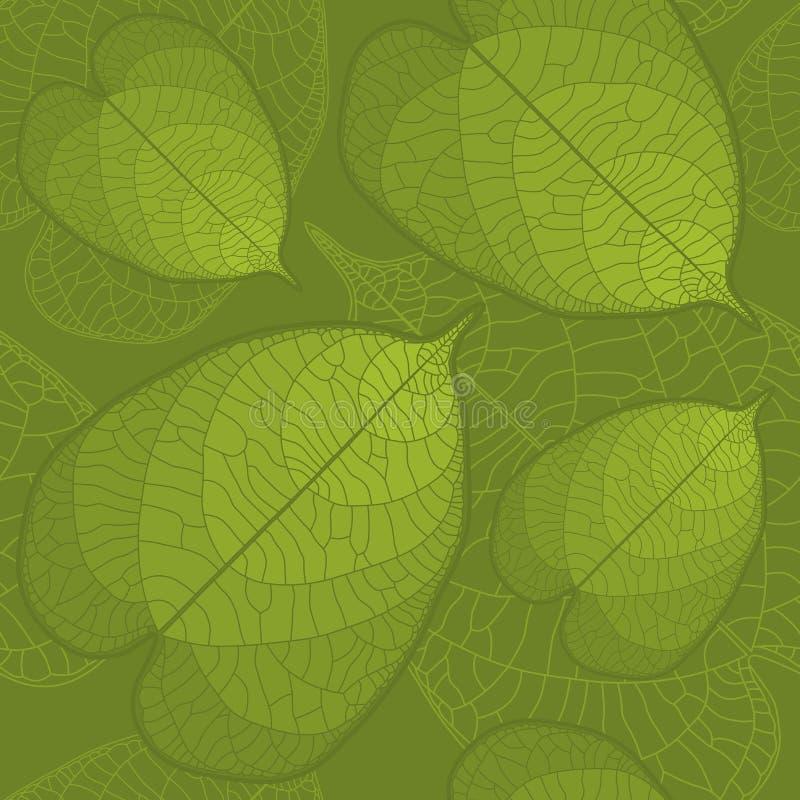 листья предпосылки безшовные бесплатная иллюстрация