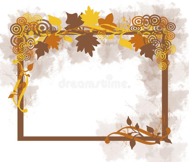 листья рамки осени бесплатная иллюстрация