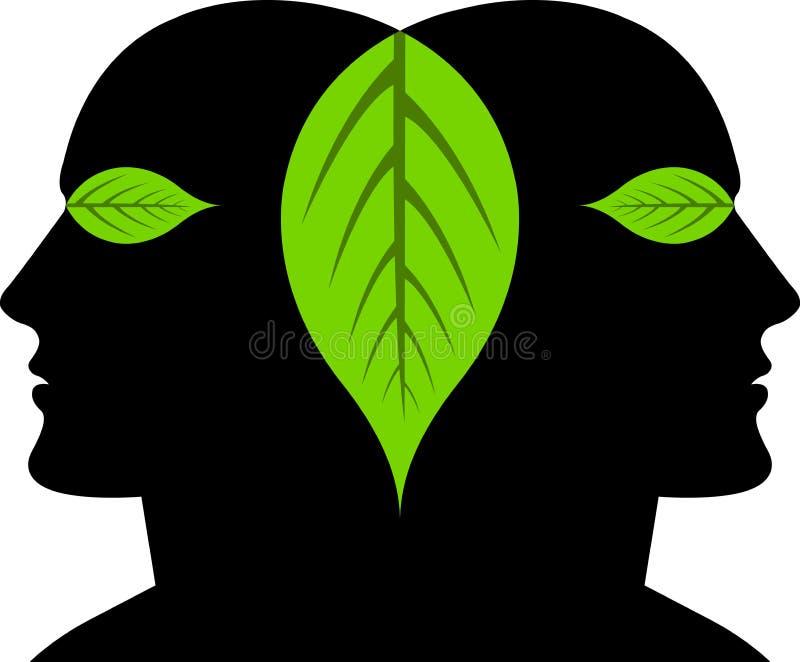листья сторон иллюстрация штока