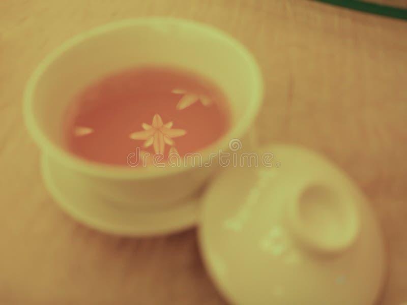Листья чая звезды форменные стоковые фотографии rf