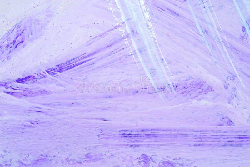 Лист бумаги на котором ходы щетки, пурпурный оттенок стоковое фото rf