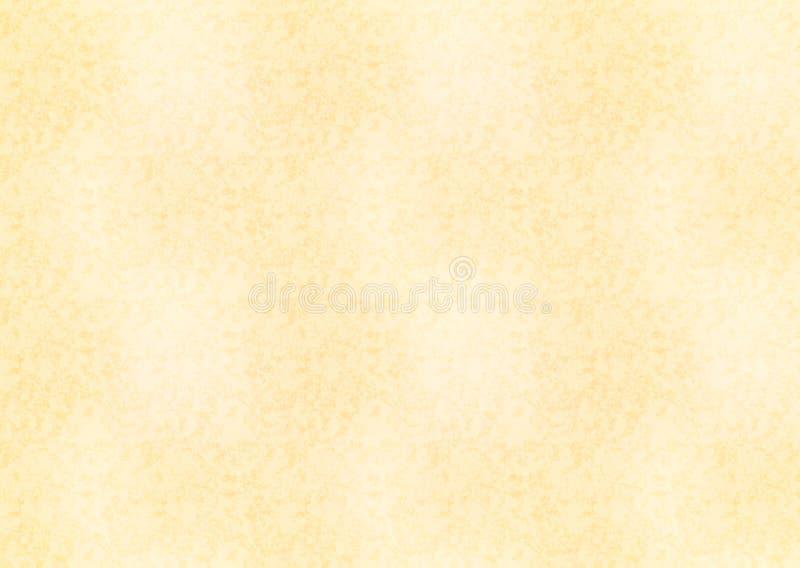 Лист горизонтального размера a4 желтый старой бумаги бесплатная иллюстрация