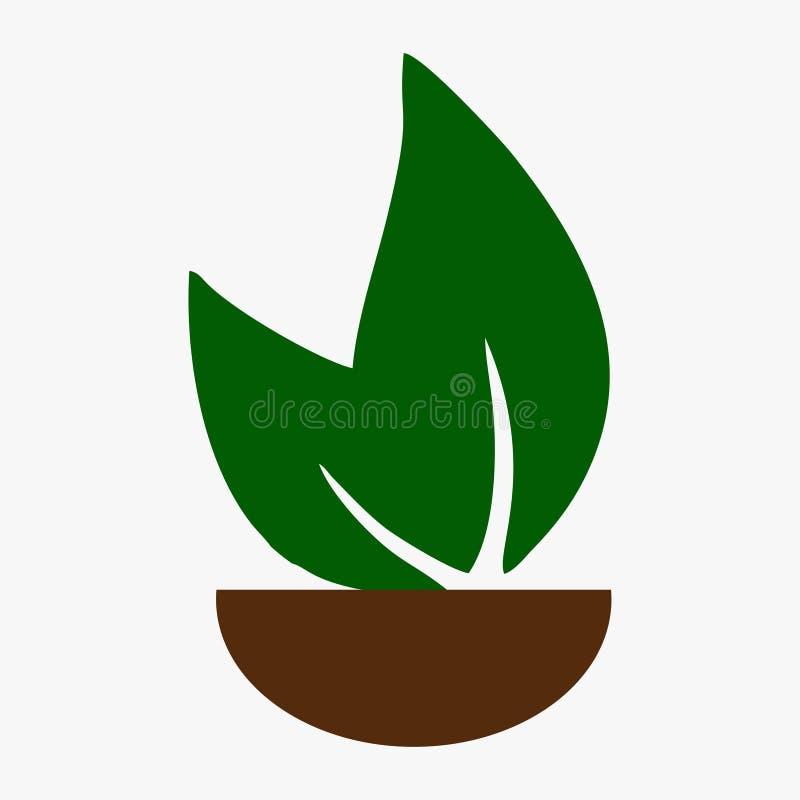 Лист, завод, логотип, экологичность, люди, здоровье, зеленый цвет, листья, комплект значка символа природы дизайнов иллюстрация вектора