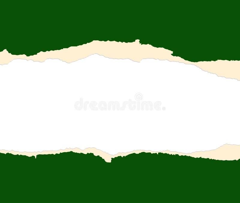 лист зеленой бумаги сорвал 2 бесплатная иллюстрация