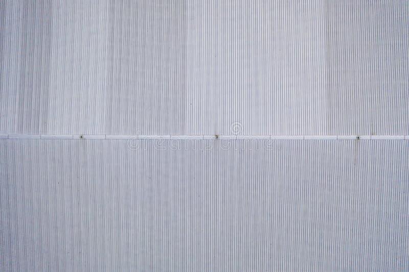 Лист крыши цинка металлический изготовляя фабрики стоковое изображение rf