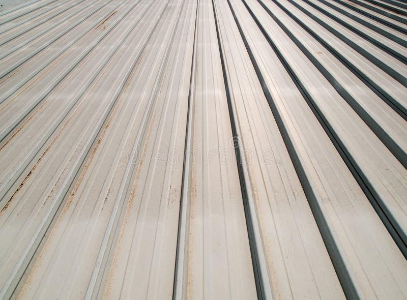 лист крыши 2 металлов стоковые изображения rf