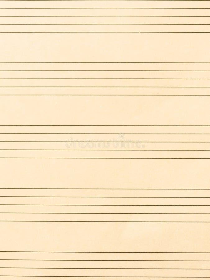 Лист музыки стоковые фотографии rf