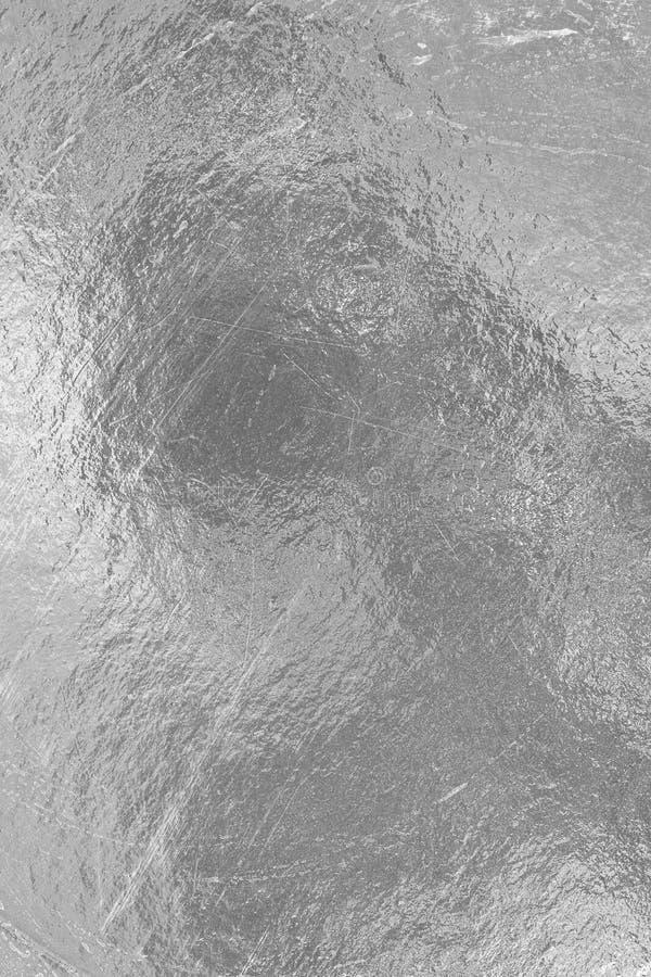 Лист серебряной фольги стоковая фотография rf
