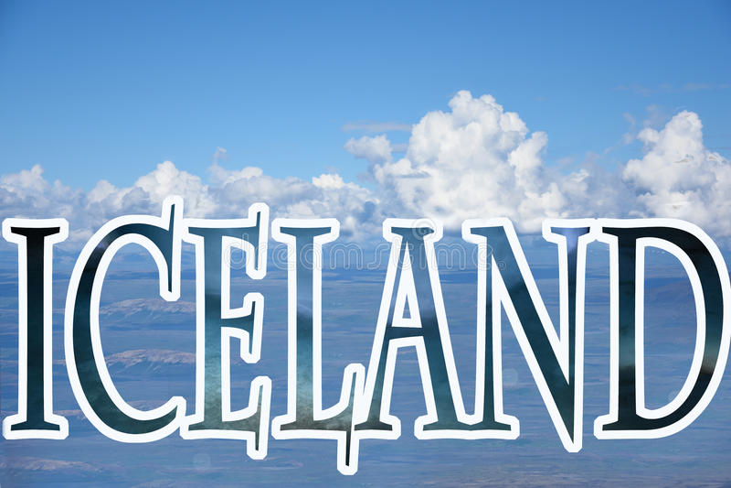 Литерность Исландии стоковая фотография