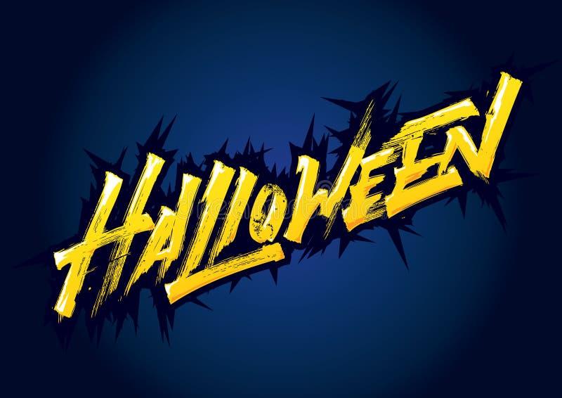 Литерность Helloween выразительная стоковые фото