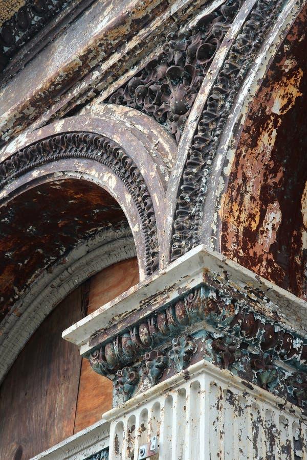 Литое железо Филадельфии стоковое фото