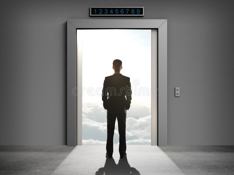 Лифт, который нужно заволочь стоковое фото rf