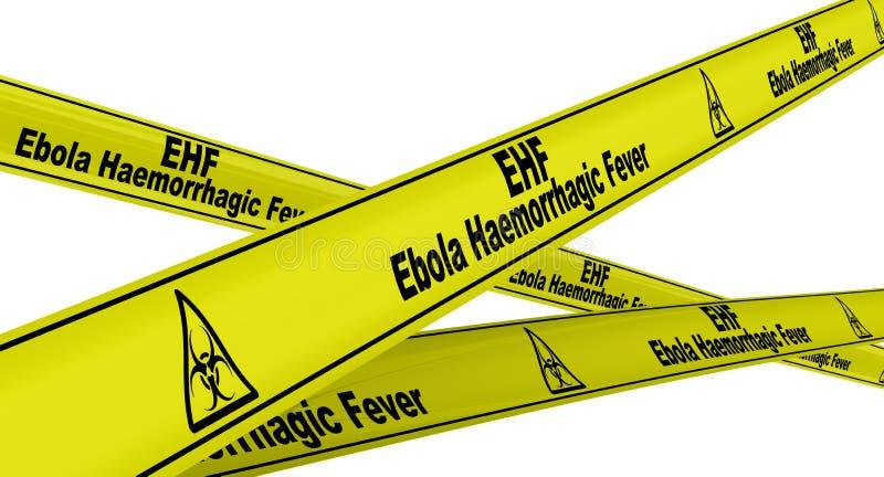 Лихорадка Ebola Haemorrhagic r иллюстрация вектора