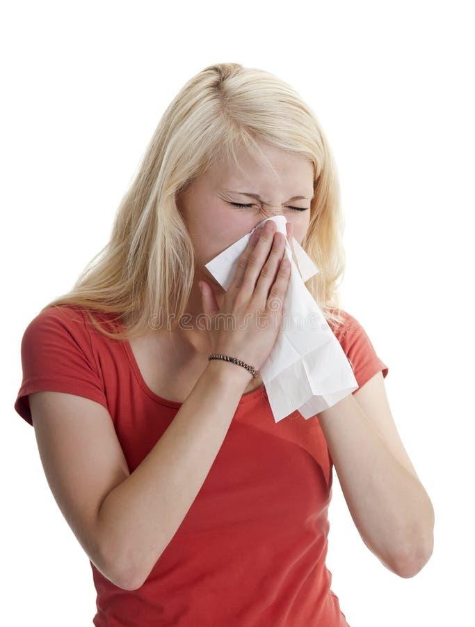 Лихорадка сена стоковое изображение