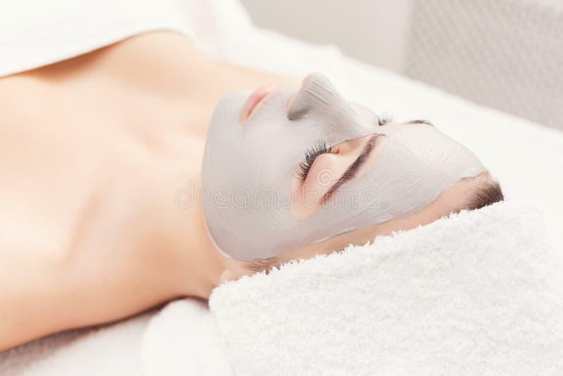 Лицевой щиток гермошлема, косметика курорта, skincare стоковая фотография
