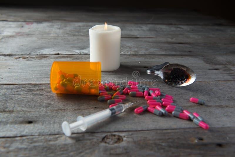 Личное имущество лекарства стоковая фотография rf