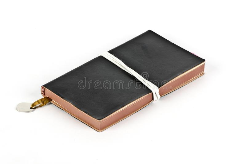 Личный дневник с отметкой стоковое фото