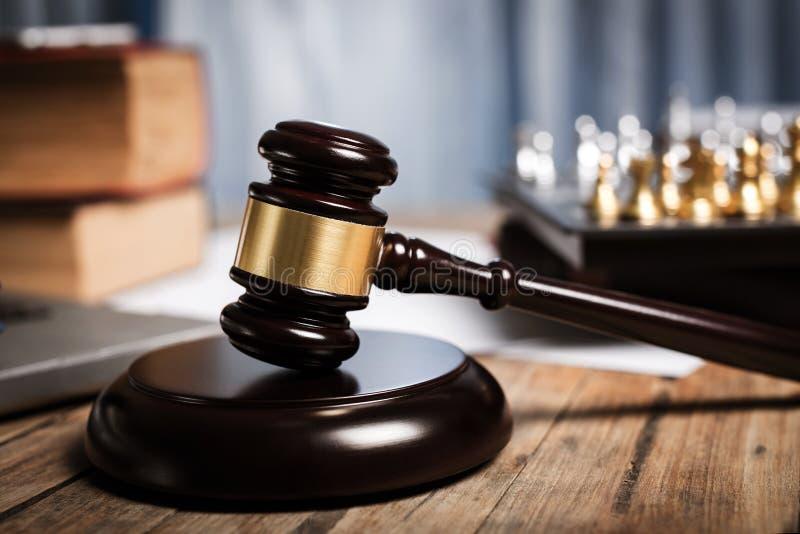 Личный кабинет юриста, судей и другого стоковые фото