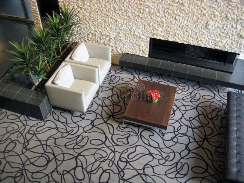 лобби гостиницы стоковые фотографии rf