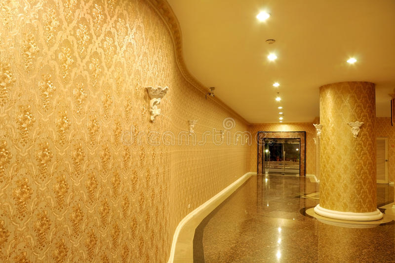 лобби гостиницы стоковые фото