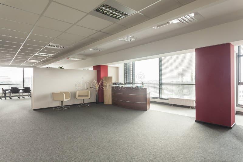 Лобби офиса стоковое изображение