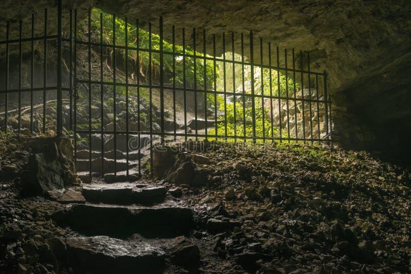 Лобби пещеры стоковое фото rf