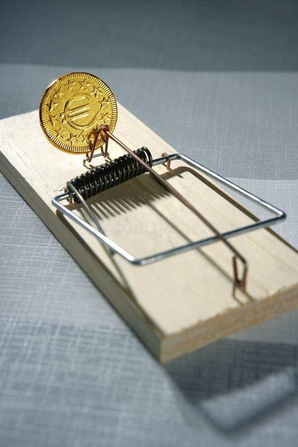 ловушка мыши дег кредита стоковые фото