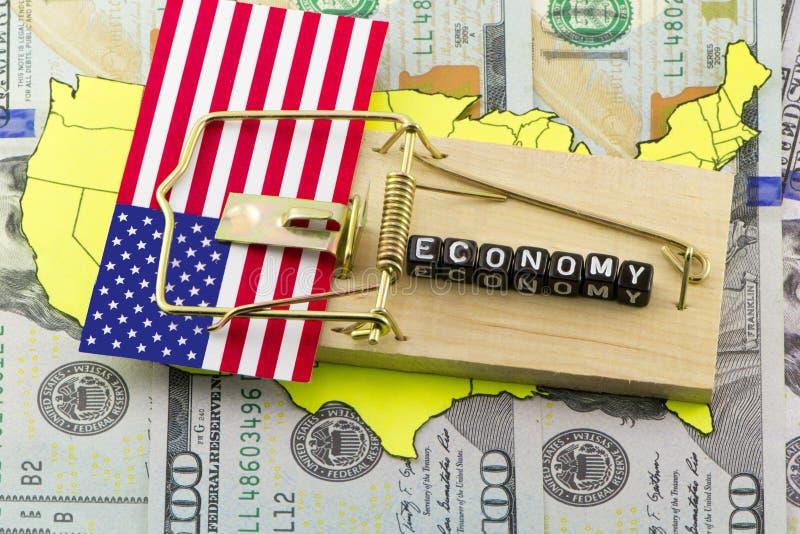 Ловушки в США стоковые фотографии rf