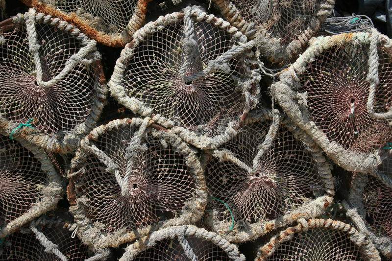 Ловушки омара стоковое изображение