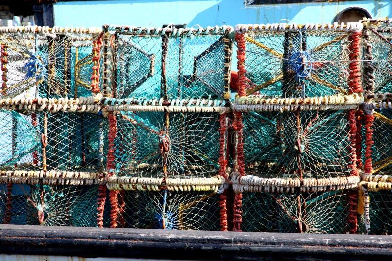 Ловушки омара стоковая фотография rf