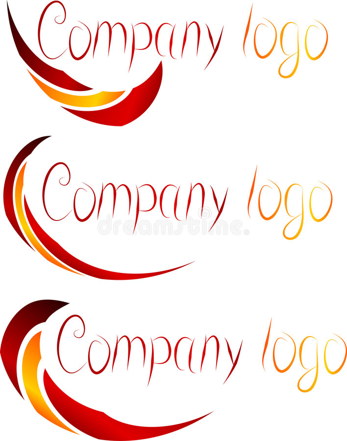логосы компании установили бесплатная иллюстрация