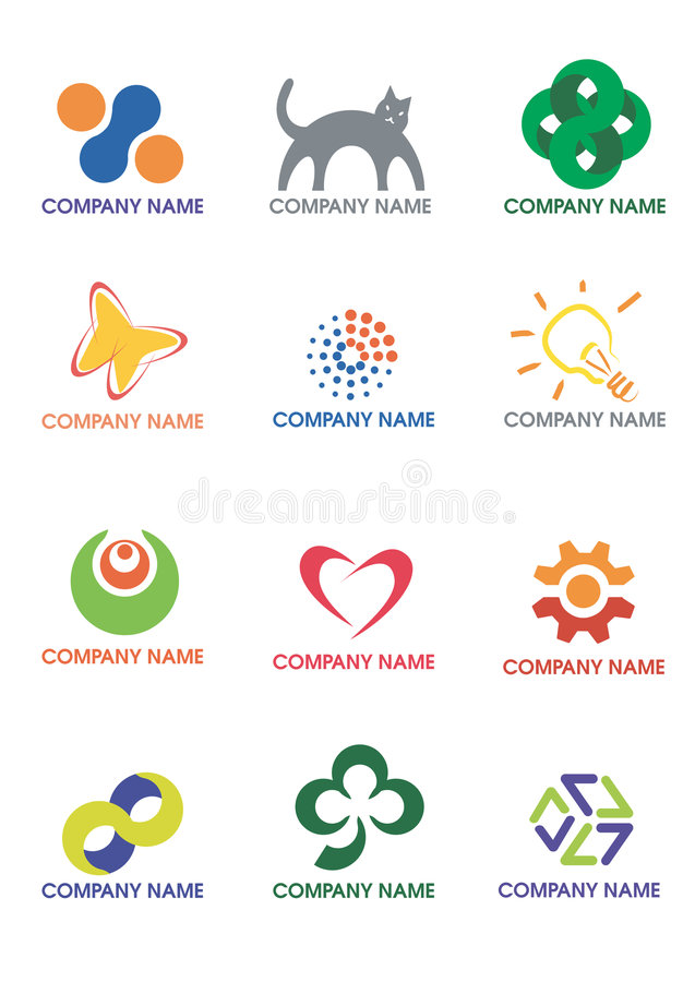 логосы компании бесплатная иллюстрация