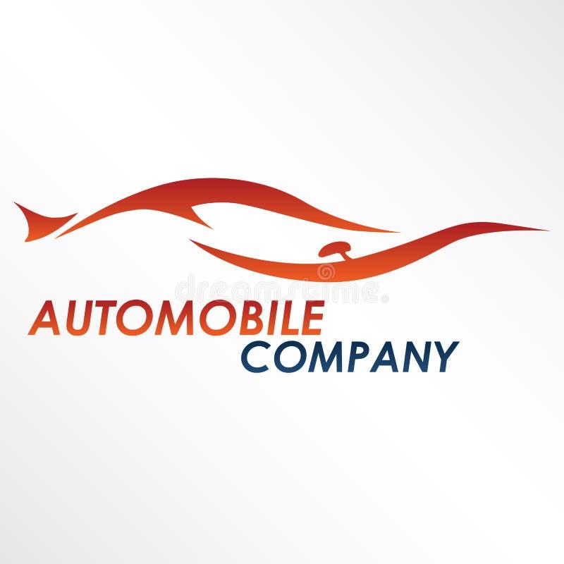 логос автомобиля самомоднейший иллюстрация вектора