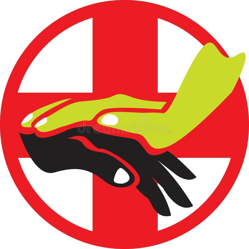 логос внимательности иллюстрация штока