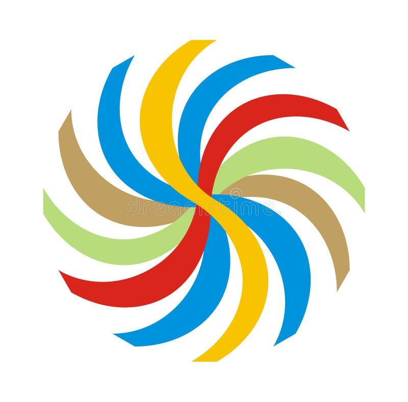 логос выставки масленицы иллюстрация вектора