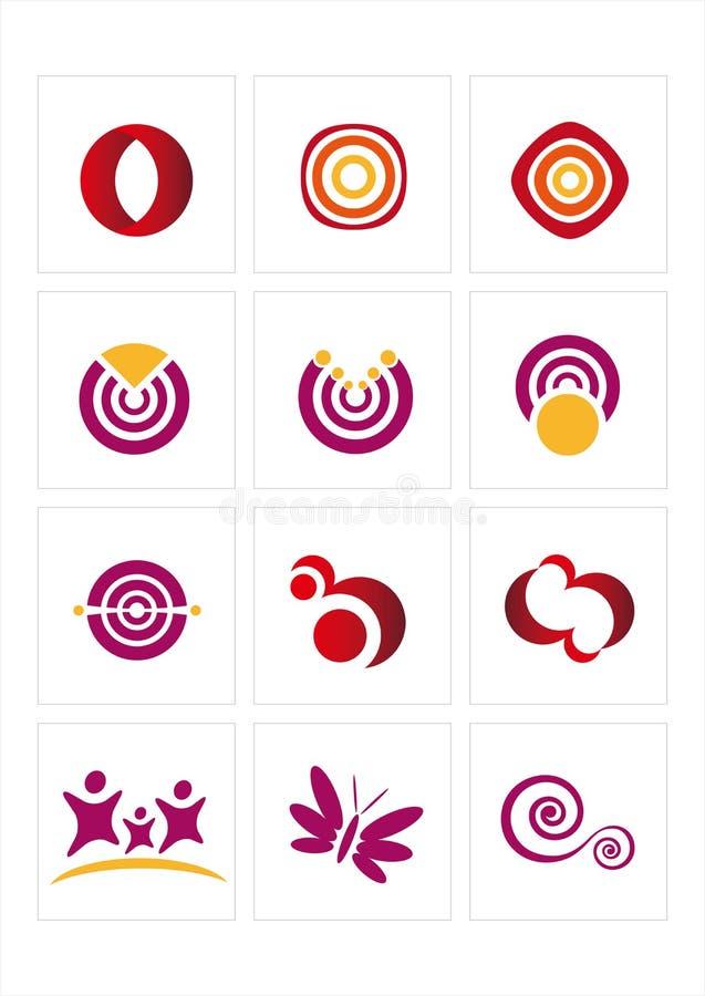 логос иконы иллюстрация вектора