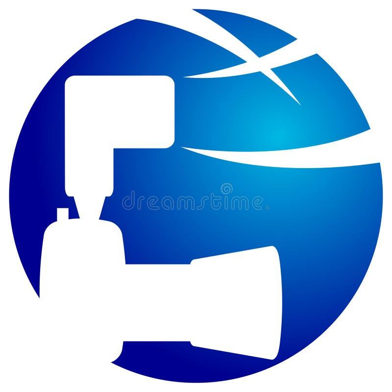 логос камеры иллюстрация вектора