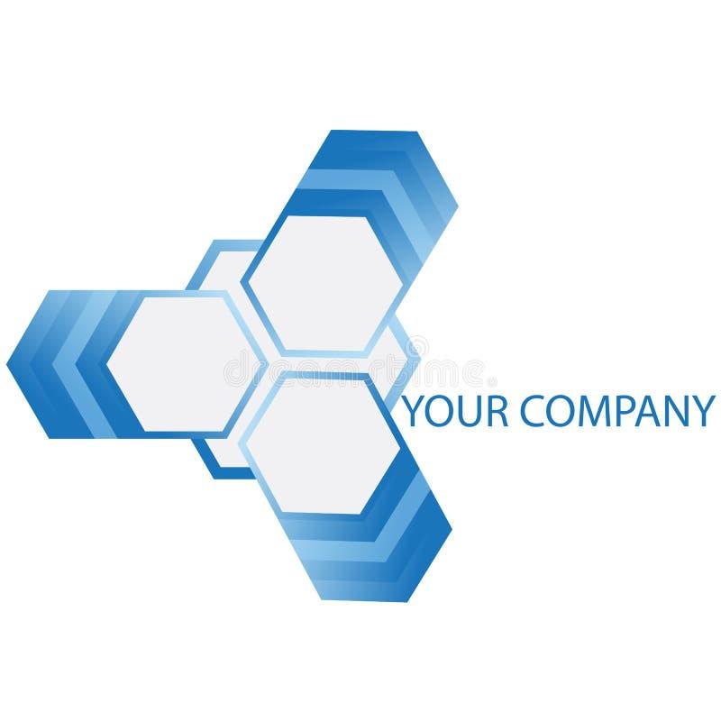 логос компании иллюстрация вектора