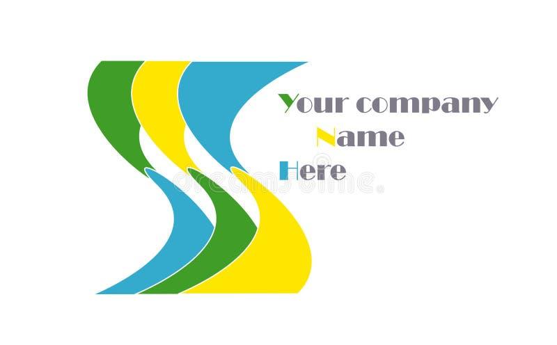 Логос компании стоковое изображение rf