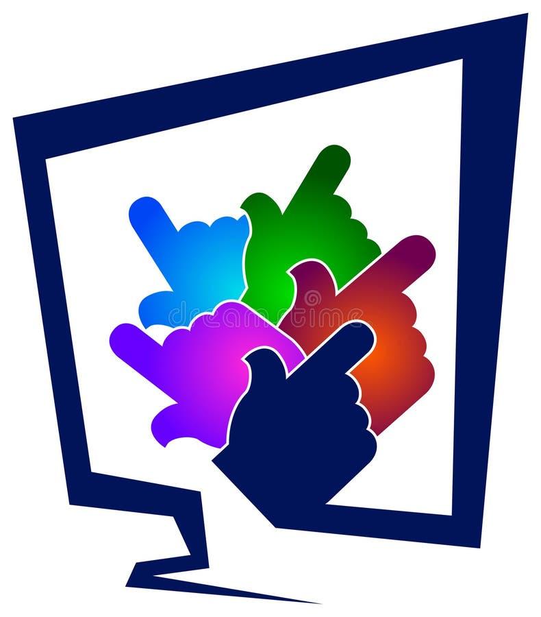 логос компьютера бесплатная иллюстрация
