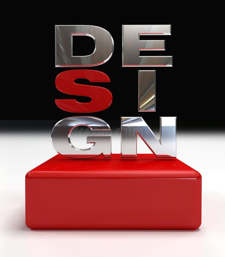 логос конструкции иллюстрация вектора