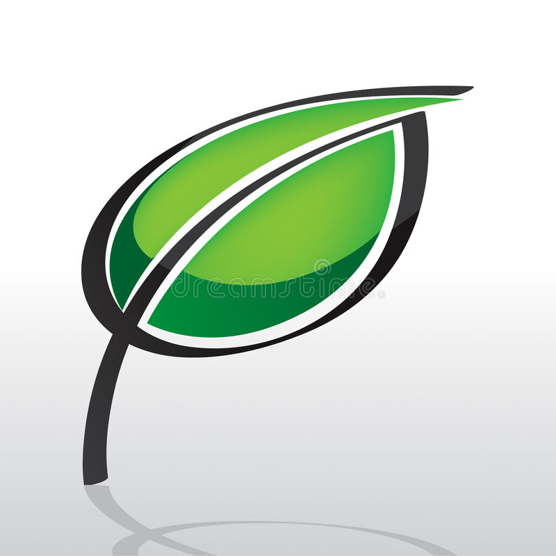 логос листьев
