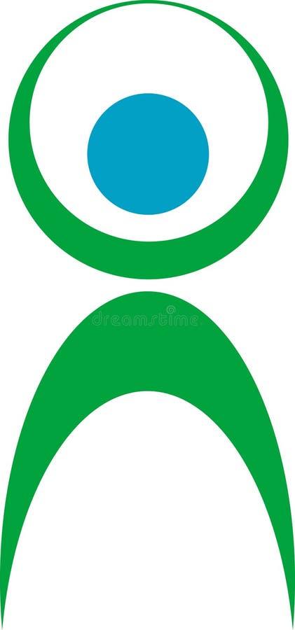 логос пригодности иллюстрация штока