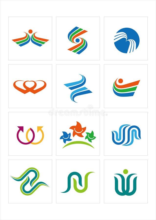 логос примера иллюстрация вектора